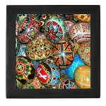 Pysanky Photo Keepsake Box